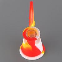 Shapephone Forma Silicone Tubos de Água Exclusivo Tabaco Ressin Kits Fumar Tubos de Fábrica Preço de Fábrica Herb Bong Fumar Acessórios Dab Rig Glass Bongs