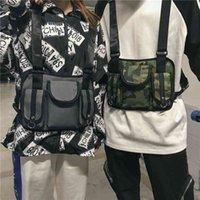 Новый модный стиль мужские и женские рюкзаки тактические игры со второго класса жилет сумка, функциональный сундук хип-хоп, сумок талии хип-хоп