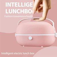 2020 NOUVEAU / UK / US Fiche Mini Riz Cuisinière Chauffage Thermique Chauffage Électrique Boîte à langer Portable Vapeur à vapeur Cuisson Repas Lunchbox1