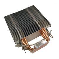 12cm CPU Refroidisseur sans ventilateur 6 Tuyau thermique SANS SANS SANS CPU HeartSink pour Intel 775/1150/1155/1156/1366 pour AMD All1