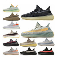 Gerçek Form 35o V2 Kil Statik Zebra Turuncu Gri Beluga 2.0 Tereyağı Kanye West Kadınlar Run Ayakkabıları Erkek Tasarımcı Spor Sneakers