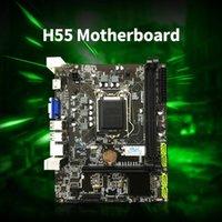 JINGSHA H55 اللوحة الأم M-ATX DDR3 LGA 1156 وحدة المعالجة المركزية Mainboard 760