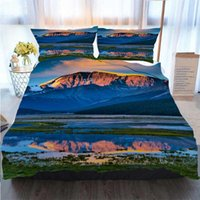 3D Printed Merry Christmas Bedding Set Jasper National Park ...