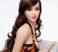 Realista las mujeres de goma de silicona muñeca del sexo del tamaño real para los hombres el pecho grande juguetes sexuales vaginales masturbador masculino