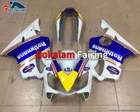 04 06 06 07 CBR 600 F4i обтекатель для Honda CBR600F4i CBR600 F4I 2004 205 2006 2007 белый синий мотоцикл обтекали (литье под давлением)