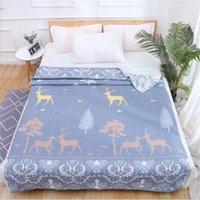 Couvertures 150x200cm Gauze Coton Couverture Couverture de lit Couverture de lit Lits de couvre-enfants Jeton pour enfants adultes pour canapé Bureau Literding1