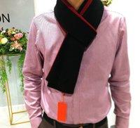 La moda de París Francia hombres del diseño ScarfNeckerchief invierno caliente suave de impresión de letras cuadro diseñador bufandas de la cachemira masculina bufanda envuelve