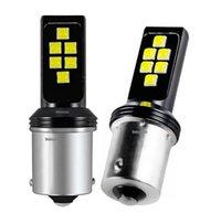 2 قطع جديد 1156 BA15S P21W جودة عالية كري رقائق led السيارات بدوره إشارة عكس ضوء الفرامل لمبة الضباب مصباح النهار تشغيل light1