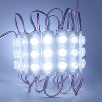 Módulo LED 3030 SMD LED Fresco blanco 3W Módulos LED con lente para caja de luz DC12V impermeable IP65