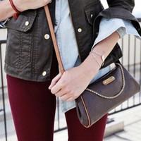 Venda quente de design de luxo clássico Senhoras Bolsa Bolsa Crossbody Bag Melhor Qualidade Genuine Leather EVA Embreagem Saco Frete Grátis1