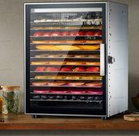 On iki katmanlar paslanmaz çelik ticari meyve kurutucu sebze kurutulmuş et pet aperatifler hava kurutucu gıda kurutulmuş meyve makinesi