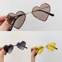 Daxhy Designer Top Love Glasses 2021 Nueva calidad Lente de vidrio Polit Classic Mujeres Hombres Gafas de sol Gafas de sol Marca de color Zenottic Glasses