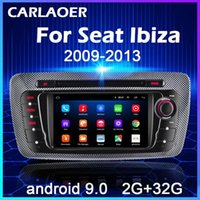 Android 9.0 Voiture Radio pour Seat Ibiza 6J 2009 2012 2013 4 GPS Navigation 2 Din Screen Audio Multimedia WiFi 2Din Player voiture DVD