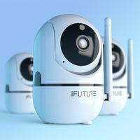 Telecamere IFURURE IP Camera HD 720P CCTV WiFi Security Cloud Night Vision Two Way Audio Auto Remote Accesso remoto wireless