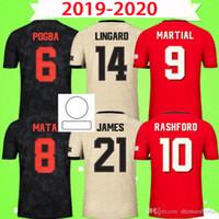 2019 2020 Manchester United MAN UTD soccer jersey Uniforme de Futebol do FC LINGARD SOLSKJAER POGBA LUKAKU RASHFORD ALEXIS HOMEM MATA UTD homem Camisas de futebol uniformes 19 20