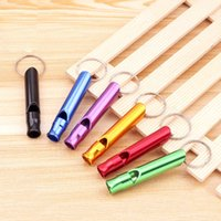 Outdoor Metal Multifunction Whistle Party Supplies Pendant W...