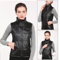Outdoor Heating Vest Clothes Intelligent Temperature Control Electric Full Body Charging Vest Down Jacket Men Women Winter Warm