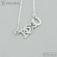 925 Ayar Gümüş Aşk Kalp Kolye Kolye Kadınlar için Zirkon Gül Renk S925 Sevimli Takı Hediyeler Arkadaşlara
