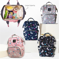 Large Capacity Baby Diaper Backpack Multifunctional Unicorn Mommy Changing Bag Mummy Backpack Bottle Mother Maternity Backpacks DBC DH1099