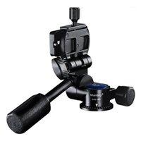 كاميرا manbily ggimbal جميع المعادن monopod tilt رئيس ترايبود رئيس 3d ggimbal مع لوحة الإفراج السريع 1