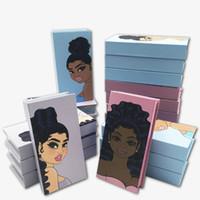 Nuevo ojo de pestañas Packaging Boxes de pestañas Pasta de pestañas cajas de envases Paquete de visón Paquete de pestañas vacías Cajas de pestañas para maquillaje