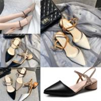 Venda Quente - Multi Mulheres Sandália Mágica Preta Colors Stick Crystal Bezerro De Couro De Alta Qualidade Designer Quilted Tamanho Sandálias Moda