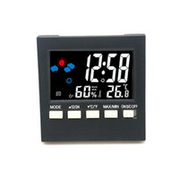 Color Screen Clock Weather Forecast Station Home Decor Thermometer Indoor Babys Room Electronics Hygrometer Originality New 9 5ms F2