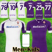 20 21 Fiorentina Soccer Jerseys Callejon 2020 2021 Milenkovic Ribery Castrovilli C.Kouame Chiesa Cutrone Duncan Camicie da calcio Top Thailandia