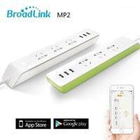 Broadlink MP2 WiFi Socket Socket PLUS, telecomando wireless Smart Home Power Strip Striscia 3 Outlet con 3USB Ricarica rapida 2.1A1
