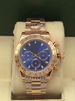 Relógio mecânico automático dos homens, Rose tamanho 40 milímetros de ouro, 2.813 movimento mecânico, 316 fina de aço, super luminoso, relógio dos homens, relógio de designer