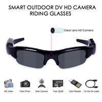 3 1 Dijital Video Kamera Sunglasse UV400 Açık Spor Kamera Gözlük Erkekler Balıkçılık Bisiklet Gözlük Balıkçılık Gözlük Kamera Kayıt