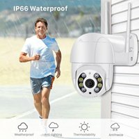 1080p PTZ Telecamera IP wireless Impermeabile 4X Digital Zoom Mini WiFi Security CCTV Camera Audio AI Intelligence
