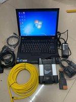 Strumenti diagnostici ICOM Next Versione software ISTA-D ISTA-P con 750 GB HDD 2021.03V in T410 CPU laptop CPU Set completo per Tool1