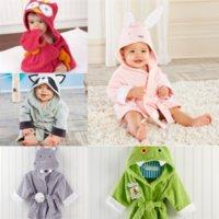 Xinz Crkids Roupão de banho para Retail Boys Boy Baby Moda Primavera Quente animada Animal Adolescente Pijama Inverno Crianças Pijama Bath Bathrobe