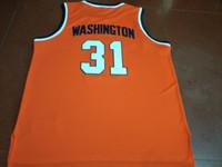 Seltene kundenspezifische Männer Jugendfrauen # 31 Dwayne Pearl Washington Syrakus-College-Basketball-Jersey-Größe S-4XL oder benutzerdefinierte JEDE NAME ODER NUMMER JERSEY