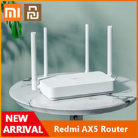 Xiaomi YouPin Redmi Router Router AX1800 WIFI 6 1800 MBPS CHPS 5-CORE PUPE DE 56MB RAM 2.4G / 5G Dual Fréquence Network Network AX5 4 Antennes