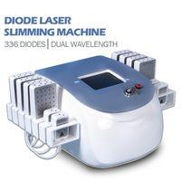 Клубничная лазерная лазерная липовая машина для похудения двойная длина волны 650 нм980 нм двойной подбородок.