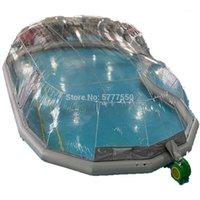 Tiendas y refugios Tamaño OEM Piscina Cubierta de piscina Inflable Cúpula Tienda de polvo a prueba de agua a prueba de agua en metro cuadrado Cotización1