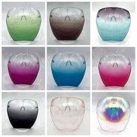 Máscara Faceshield segurança com vidros Quadro Transparente Full Face tampa protetora face escudo claro Máscaras Designer TRANSPORTE MARÍTIMO RRA3799