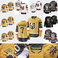 7 Alex PIETRANGELO Vegas Golden Knights 2020 Oro tercer Jersey Fleury Ryan Reaves Piedra William Karlsson Robin Lehner de cristal Marchessault