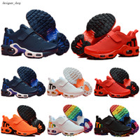 Mercurial Plus Tn 2019 Kids TN Plus Luxury Designer Sports Running Shoes 어린이 소년과 소녀 트레이너 Tn 운동화 Classic 야외 유아 운동화
