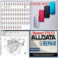 2020 핫 ALLDATA V10.53 자동차 수리 소프트 제품과 자동차와 트럭 USB 3.0 640기가바이트 HDD의 모든 데이터