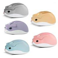 Ratón óptico inalámbrico lindo Hamster Hamster USB computadora portátil ratones pequeño ergonómico Mini 3D Oficina Mouse1