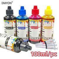 Kit inchiostro di ricarica universale a colori 400ml Compatibile per compatibile per la cartuccia Canon Ciss Brother