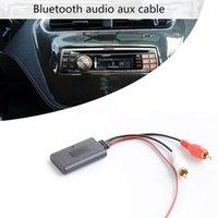 Bluetooth Kit de automóvil Universal Aux Receptor Módulo 2 RCA Cable Estéreo Radio Play Audio Adaptador Auto Inalámbrico Entrada de música para camión B2K71