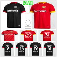 2020 2021 Bayer 04 Leverkusen Fútbol Jerseys Bailey Brandt Havertz Volland Diaby Alario Custom 20 21 Hogar de la camisa de fútbol para niños adultos
