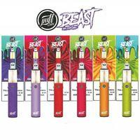 Yeni Puf Labs Beast Bar Tek Kullanımlık 1500Puffs Vape Kalem 5.0ml Ön Dolgulu Pods Kartuş Buharı Üst Akü Alt Ohm Bobin E Sigara Buharlaştırıcılar
