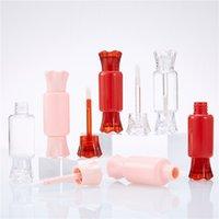 8ml forma di caramelle labbra lucido rosso rosa rossetto labbra balsamo robitable bottiglia labbra olio bacchetta del tubo dei contenitori della mascara 192 n2