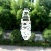 50mm Temizle Kristaller Boncuk Perde Kolye Avize Kristaller Prizmalar Suncatcher Asılı Süs Dekor Kristal Lamba Aksesuarları H Jlhel