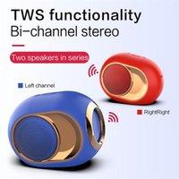 Altavoces de estantería X6 Bluetooth 5.0 Altavoz Golden Egg 280 dB Music Portátil Los altavoces inalámbricos para el teléfono PC Super Bass HiFi1